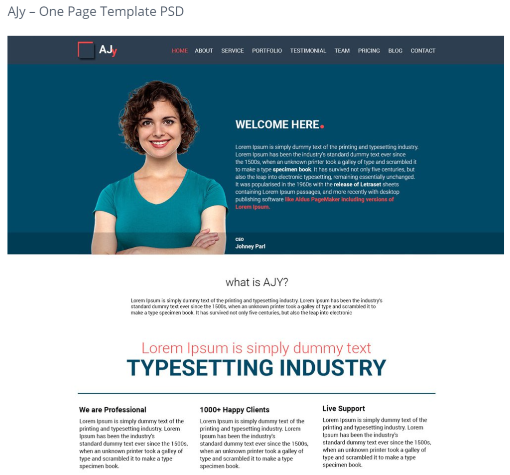 how to create a website template in photoshop
