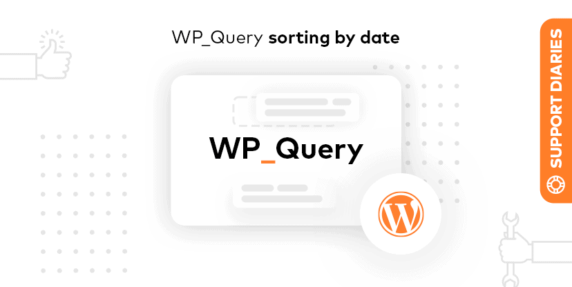 wp_query - order by date