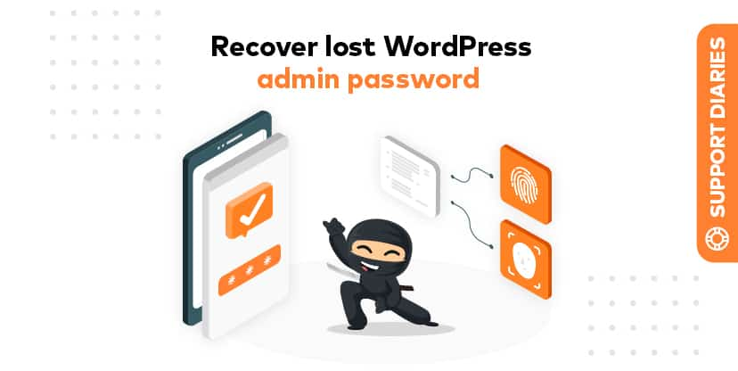 How to recover a lost wp-admin password using WP CLI